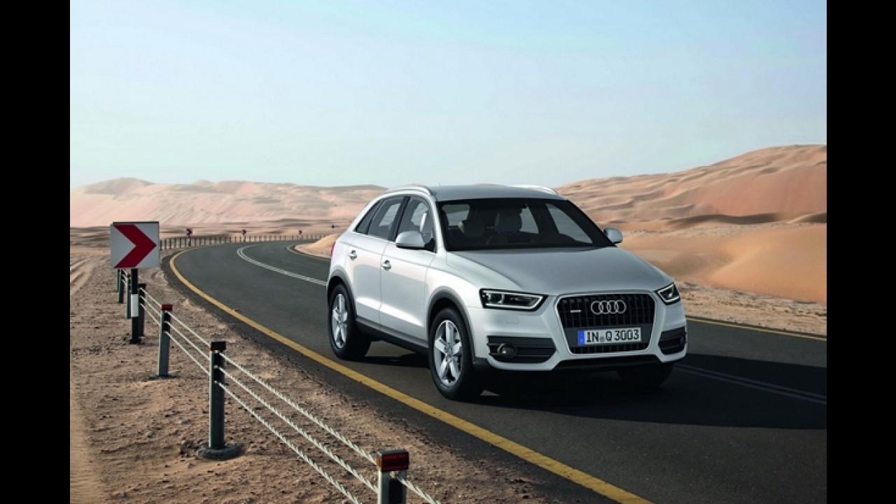 Audi ultrapassa 1 milhão de unidades vendidas em 2011