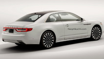 Lincoln Continental GT render