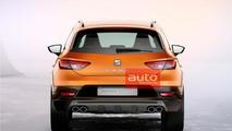 Seat Leon Cross Sport leaked official image / autoforum.cz