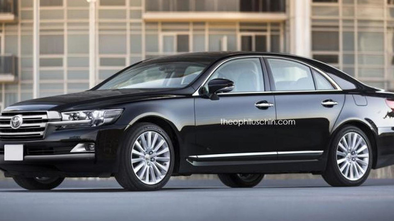 Toyota Crown rendering / Theophilus Chin