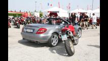 Mercedes SLK NAKED al World Ducati Week 2010