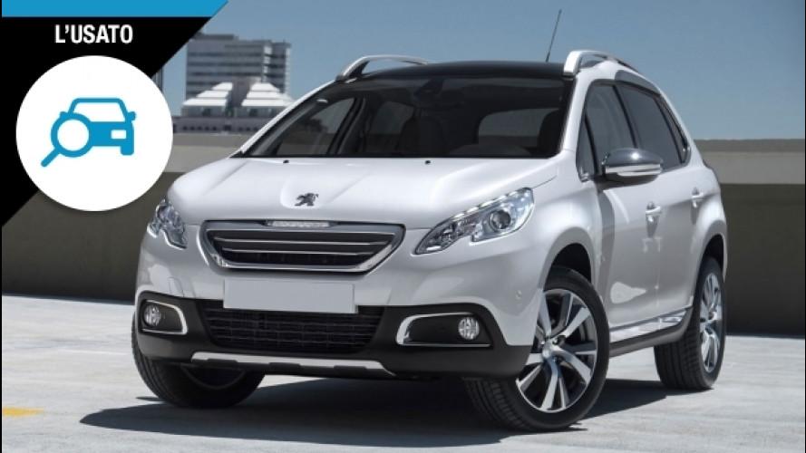 Peugeot 2008, per l'usato bastano 13.000 euro