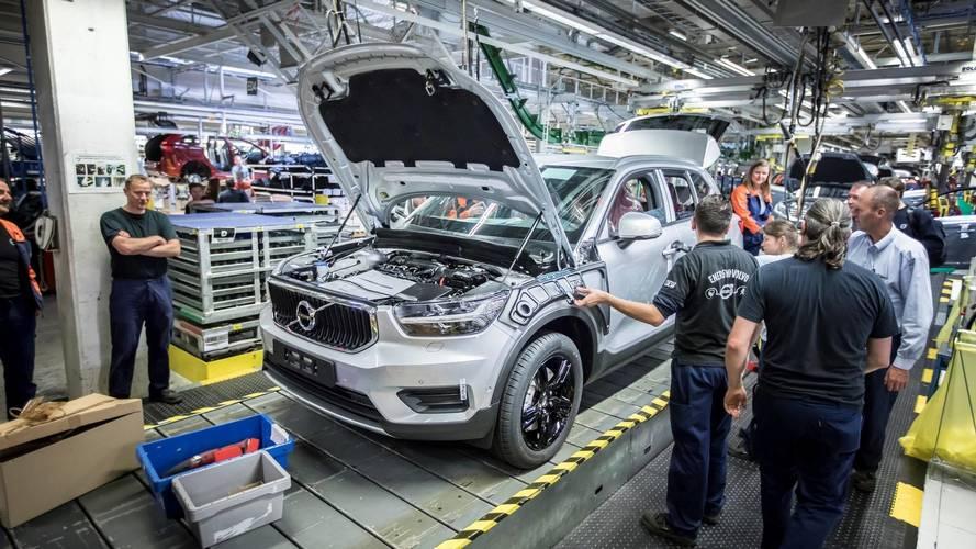 Volvo comienza la producción del XC40 2018, en la planta de Gante