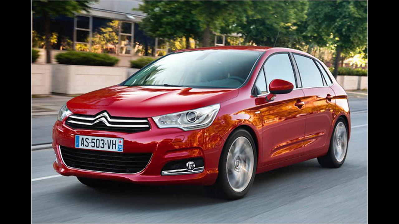 Die schlechtesten Autos bis 7 Jahre: Citroën C4
