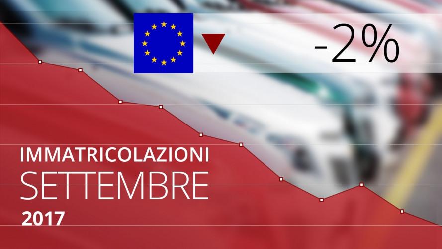 Mercato auto, a settembre l'Europa tira il freno