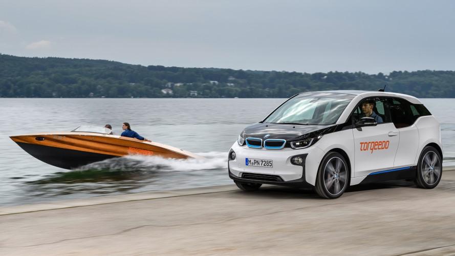 Le auto elettriche BMW motorizzano barche a zero emissioni