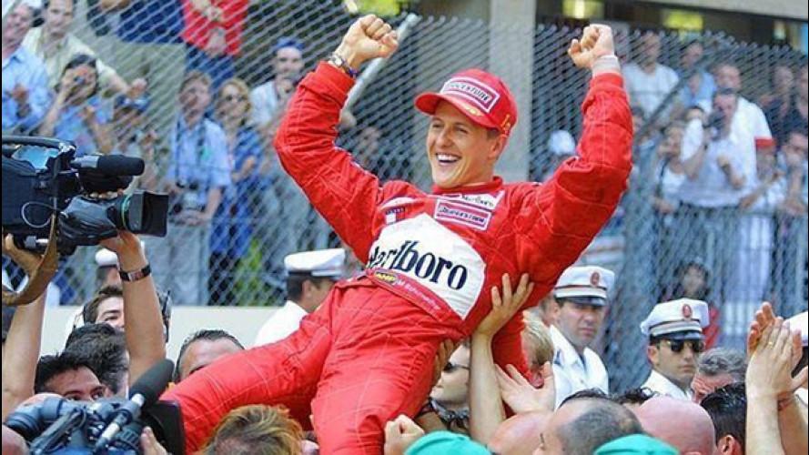 Schumacher, domani riceve il premio alla carriera dal Nurburgring