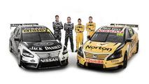 Nissan unveils four-car Altima V8 Supercars lineup [videos]