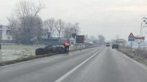 Alfa Romeo 4C prototype crash 18.12.2012