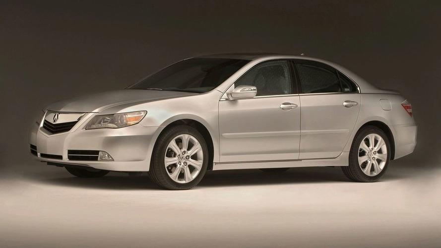 2009 Acura RL Revealed in Chicago