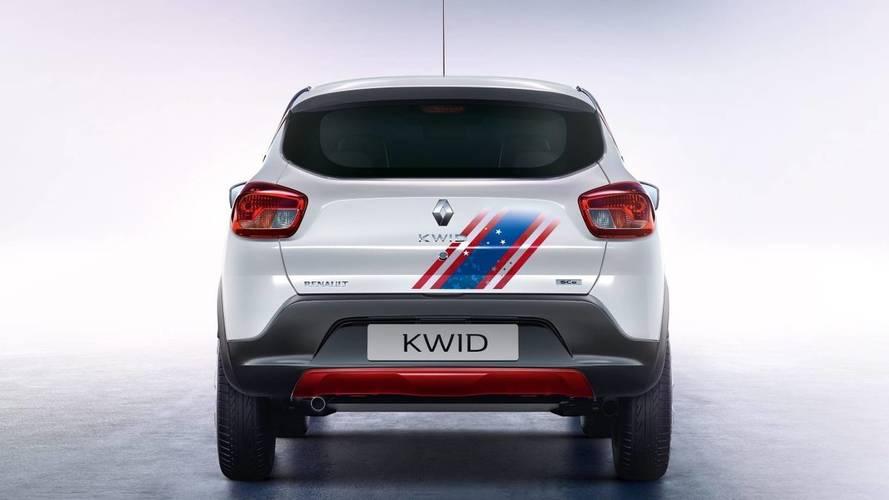 Renault Kwid versions Iron Man et Captain America