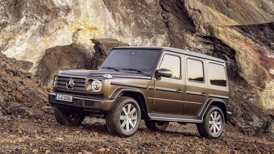 Le nouveau Mercedes Classe G (2018) en vidéo