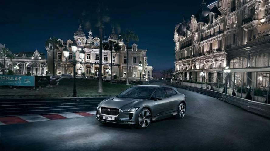 Le Jaguar I-Pace à Monaco