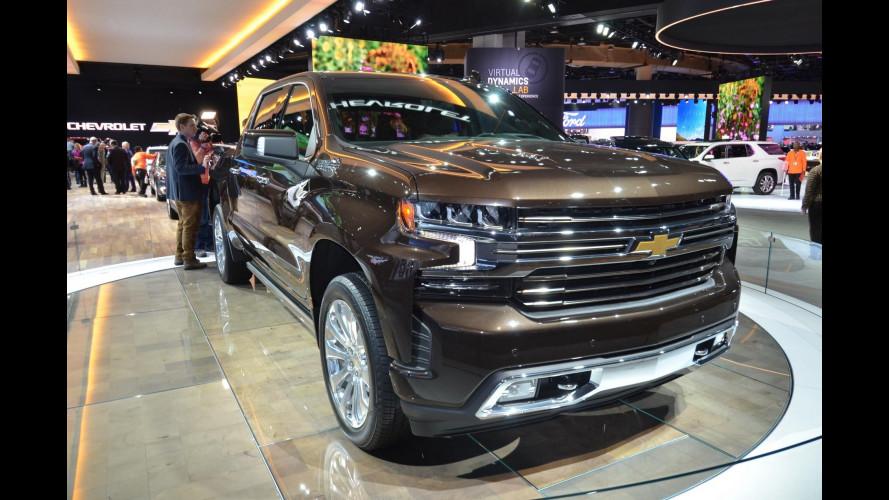 Chevrolet Silverado, cresce ma diventa più leggero