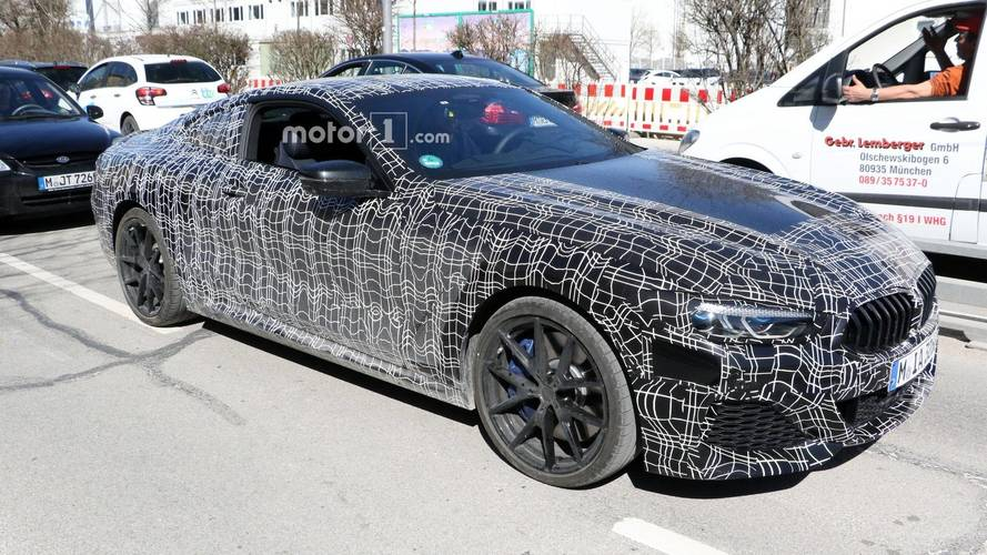 2019 BMW 8 Series Coupe And Convertible Spied Inside And Out