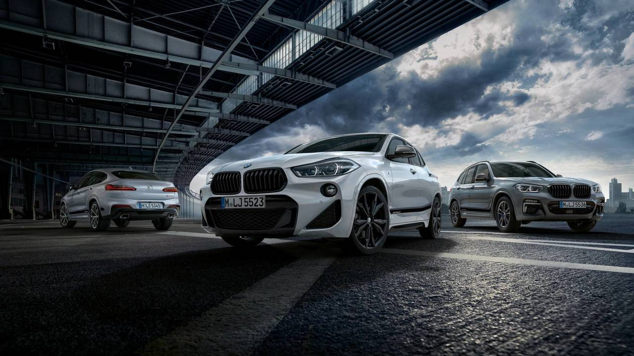 BMW X2, X3 y X4 con kit M Performance