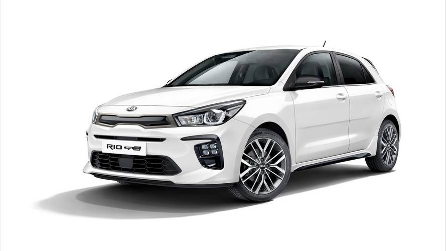 Kia Rio set to get a sporty makeover