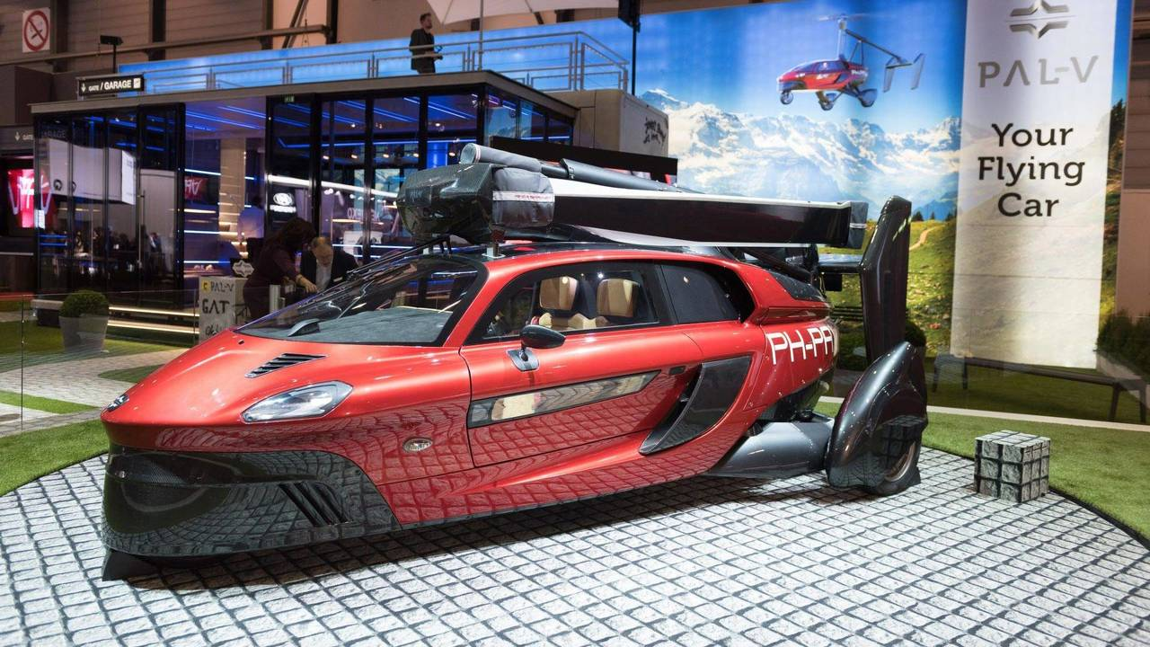 Pal-V Liberty Flying Car: Geneva 2018