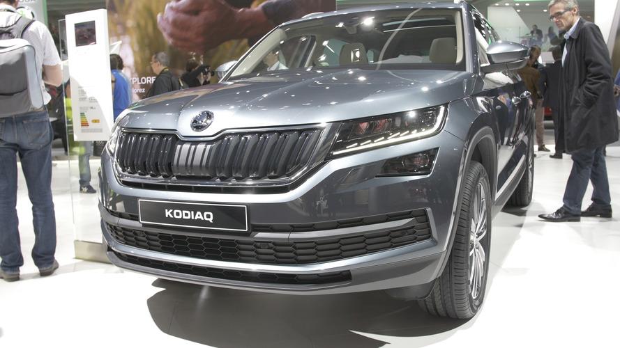 Video: Skoda Kodiaq at the Paris Motor Show