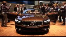 Volvo, 2017 S90'ı XC90'dan Daha Da Lüks Olacak