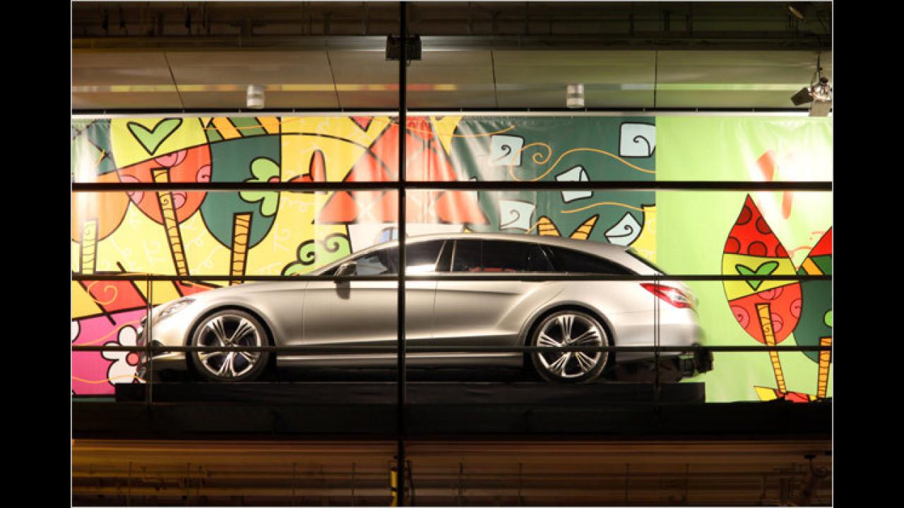 11. Dezember: Mercedes Shooting Brake, mit Romero Brittos ,Better World