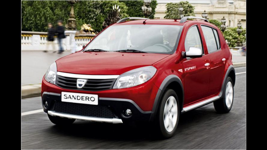 Der Preis ist heiß: Dacia Sandero Stepway für 9.990 Euro