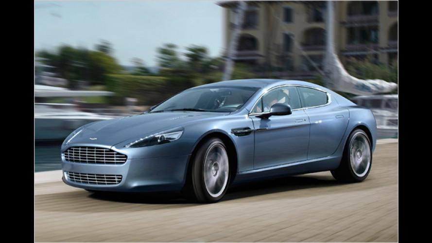 Familien-Fließheck: Aston Martin zeigt den neuen Rapide