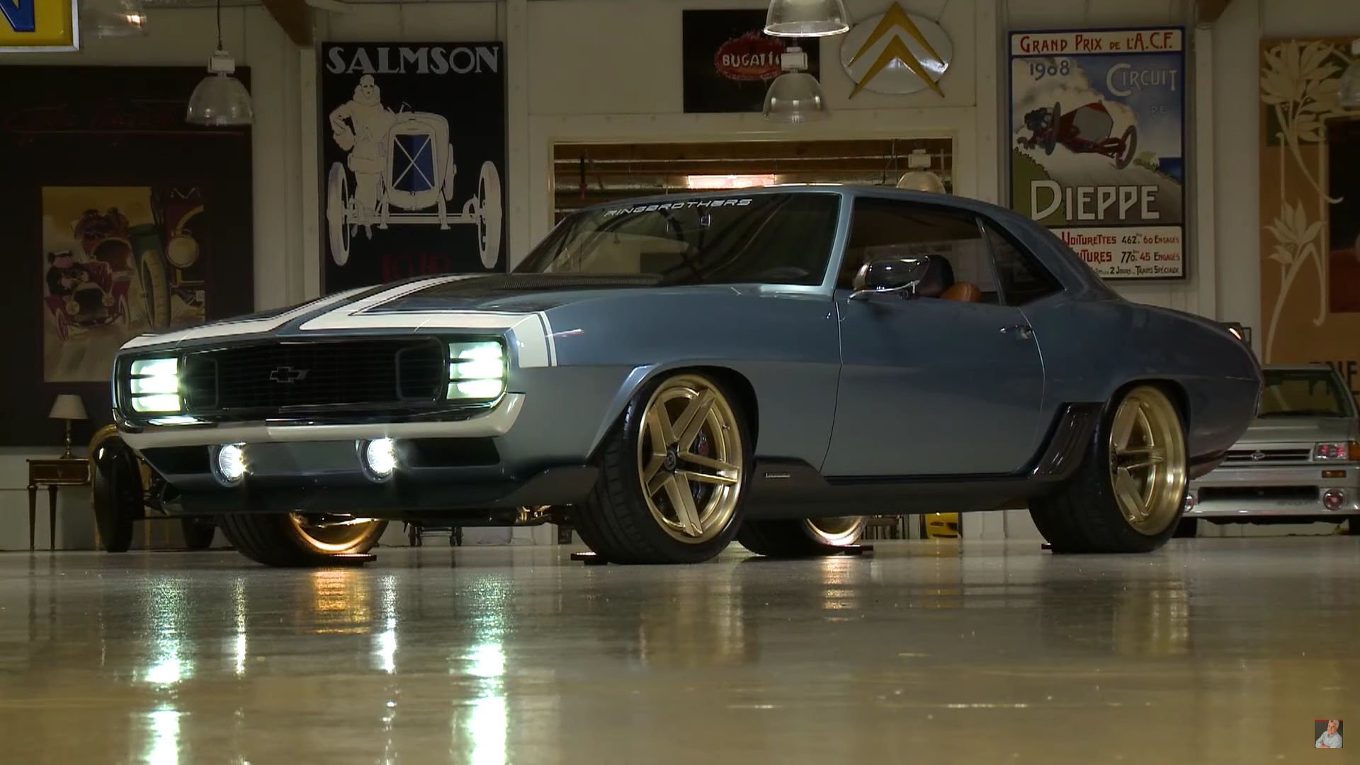 Ringbrothers Chevy Camaro G Code Hits The Spot For Jay Leno