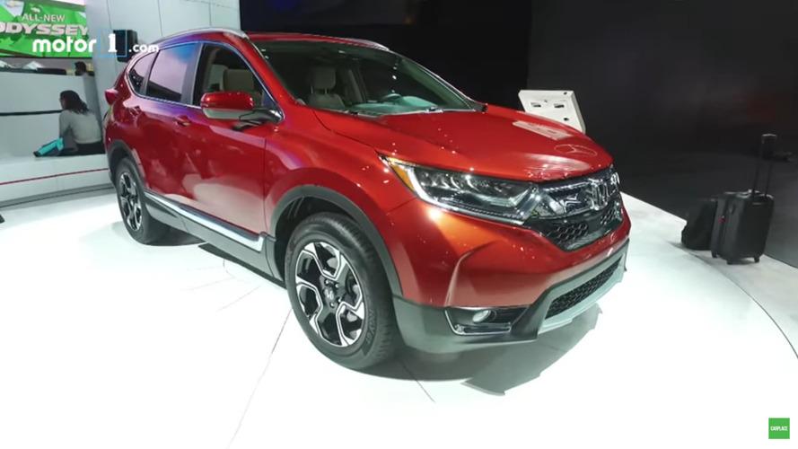 Vídeo - Confira o novo Honda CR-V 2018 em detalhes no Salão de Detroit