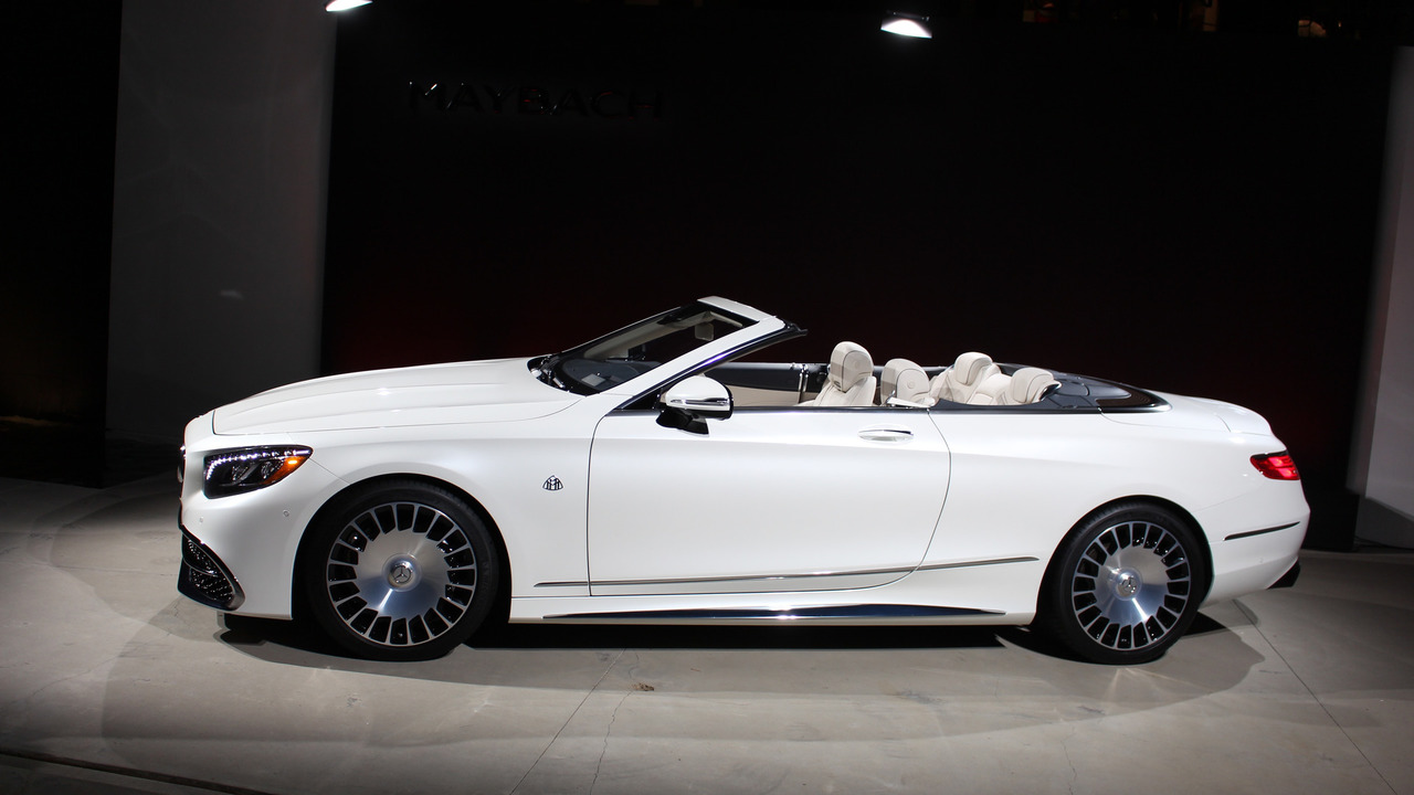 Dozens of Mercedes-Maybach S650 Cabriolets Spotted At ...