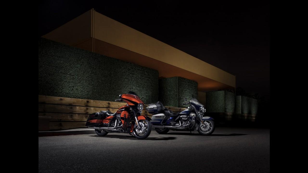 Harley-Davidson apresenta novo motor e suspensão para a linha 2017