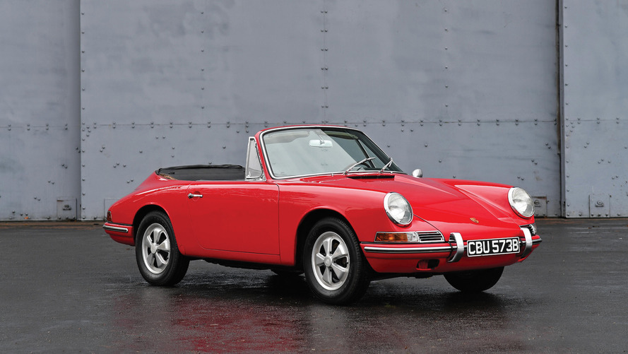 The first Porsche 911 Cabriolet is up for auction