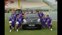 Toyota iQ in Serie A con la Fiorentina