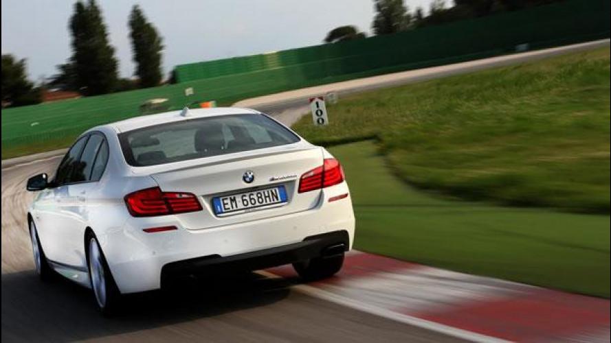 BMW M550d xDrive, sportiva eppur Diesel