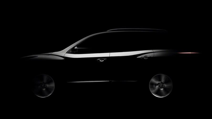 Nissan Pathfinder Concept, il primo teaser