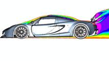 Hennessey Venom GT CFD (computational fluid dynamics) illustrations - 1100