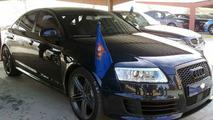Audi RS6 of the King of Spain, Juan Carlos I. - 1024 - 21.01.2010