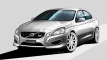 Heico releases first Volvo S60 body styling design sketches