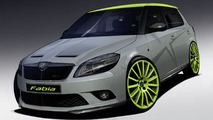Skoda Fabia RS+ preview illustration, 800, 10.05.2010