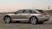 Audi A6 Avant Allroad illustrations
