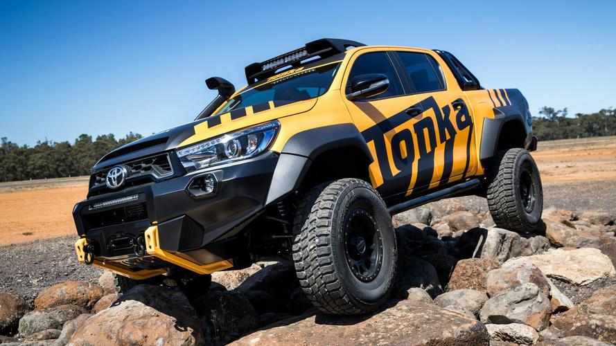 Pick-ups - Un Toyota Hilux plus puissant pour concurrencer le Raptor ?