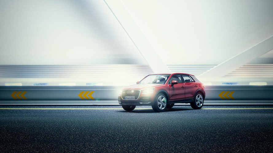Audi Q2 Photoshoot Uses Tiny Model To Make Big Impression