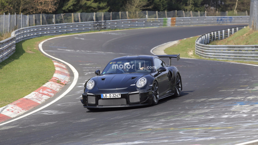 Watch The New Porsche 911 GT2 RS Attack The Nurburgring