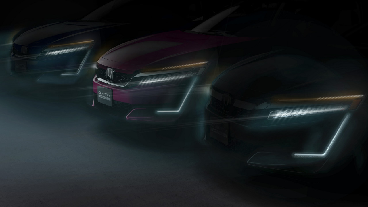 Honda Clarity Plug-in Hybrid and Clarity Electric teaser