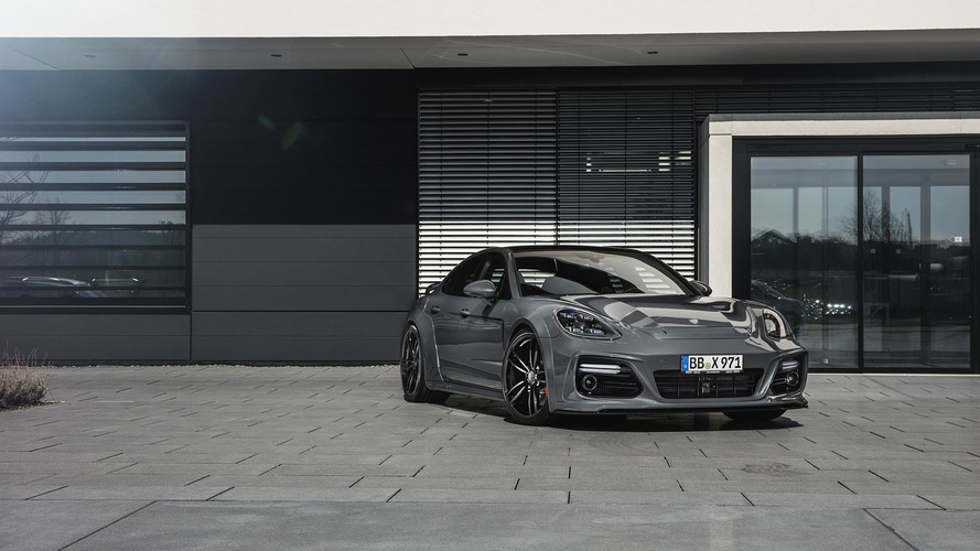 Techart's Porsche Panamera Kit Emphasizes