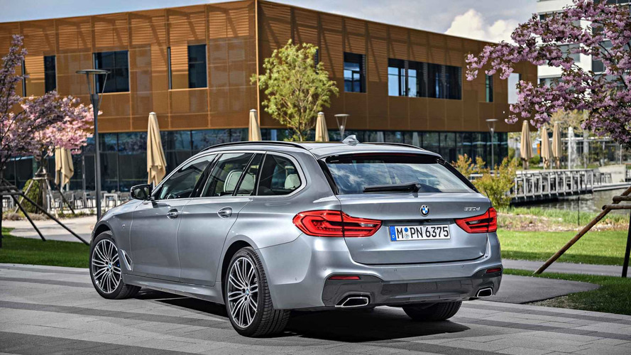 2017 BMW 5 Series Touring First Drive