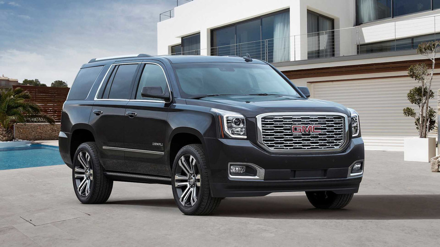 2018 GMC Yukon Denali Gets New Grille, 10-Speed Transmission