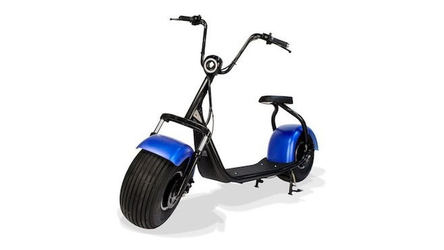 Quirky Electric Scooter Rolls on 'Phat' Wheels
