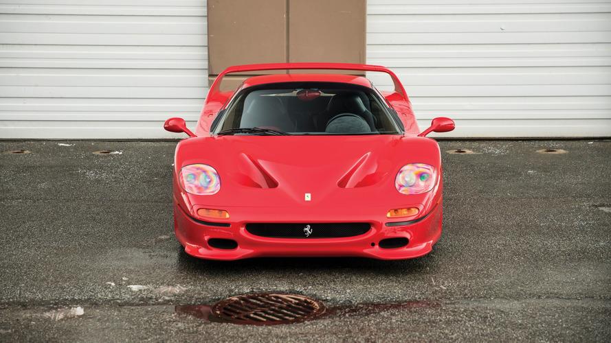 Ferrari F50 1995 de Mike Tyson