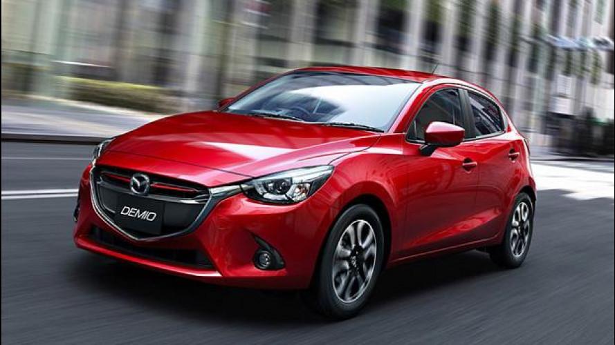"""Nuova Mazda2, motori 1.5 """"tuttofare"""""""
